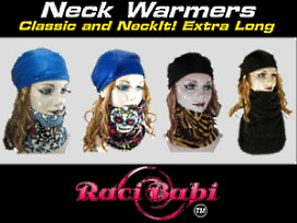 Raci-Babi Neck Warmer collection
